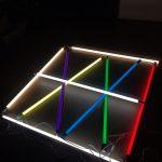LED直管蛍光灯にカラーフィルターをつけてみた